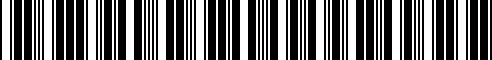 Barcode for 71607692097