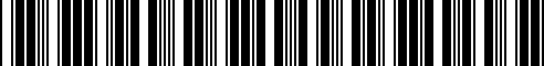 Barcode for 71607694765