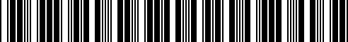 Barcode for 71607695236