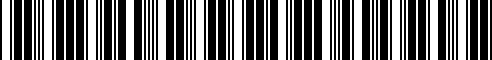 Barcode for 71607723515