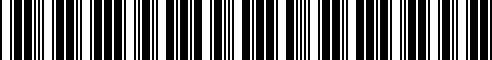 Barcode for 77149457018