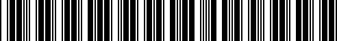 Barcode for 77418536870