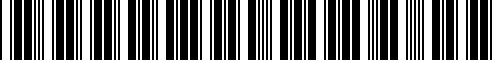 Barcode for 77448549334