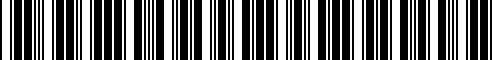 Barcode for 77522414855
